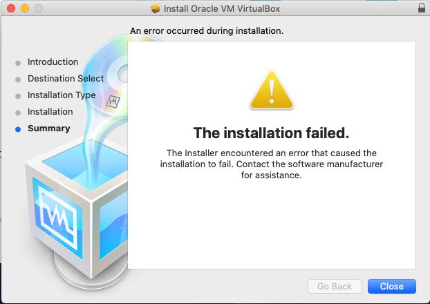 помилка установка virtualbox Guest Additions Tools в macos