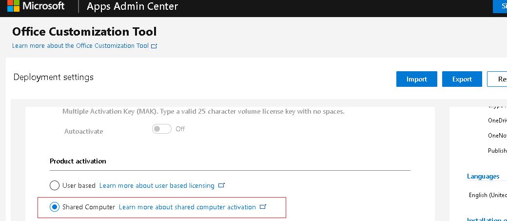 генерация xml файла в Office Customization Tool
