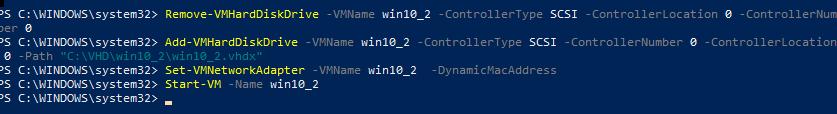 змінити ім'я віртуальних дисків ВМ hyper-v