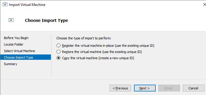 копіювати ВМ Hyper-V і згенерувати новий ID