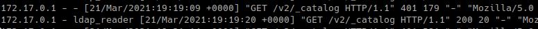 успешная аутентфикация HTTP/1.1 200