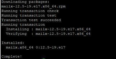 установка mailx в linux