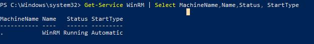 служба WinRM в windows