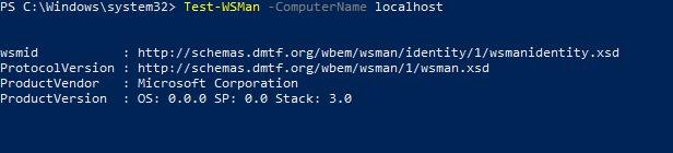 Test-WSMan проверка подключения powershell remoting