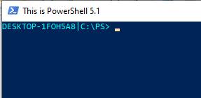 новые настройки автоматически применяются к консоли PowerShell