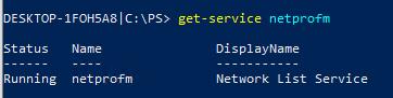 служба Network List Service нужна для активации Office 365