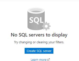 список базы данных в SQL Azure
