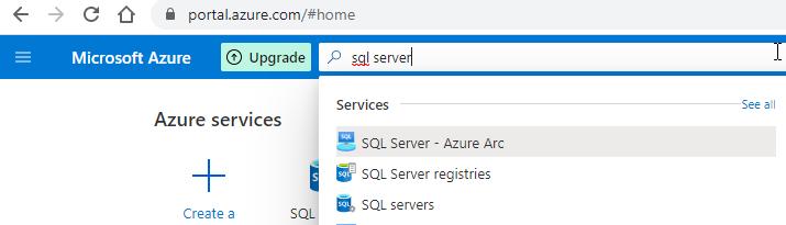 SQL servers в Azure