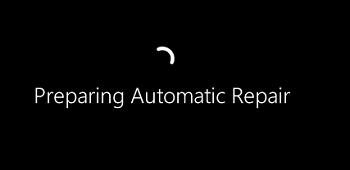 Windows загрузилась в режиме Preparing Automatic Repair